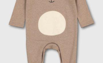 Brown Bear Sleepsuit