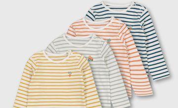 Nautical Stripe T-Shirt 4 Pack