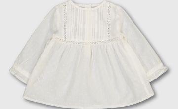 White Woven Top
