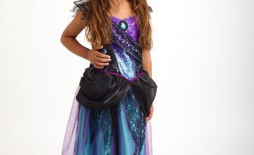 Halloween Purple Princess Costume