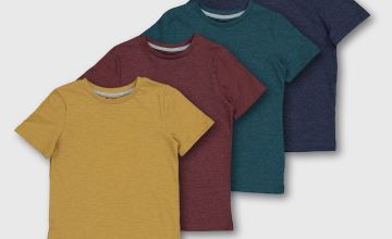 Assorted Marl Crew Neck T-Shirts