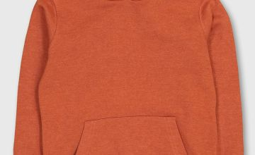 Orange Pull-Over Hoodie