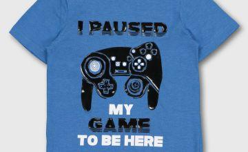 Blue Gaming T-Shirt