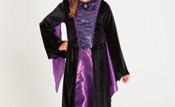 Disney Maleficent Purple 2-Piece Costume