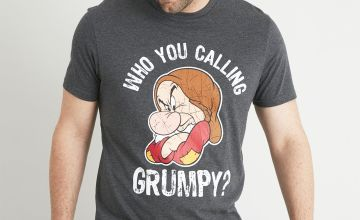 Disney Grumpy Grey T-Shirt