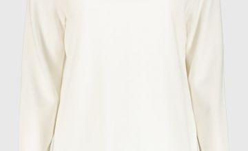 Grey Longline Sweatshirt