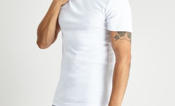 White 'Very Warm' Thermal Short Sleeve T-Shirt
