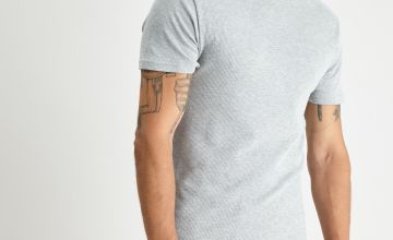 Grey 'Very Warm' Thermal Short Sleeve T-Shirt
