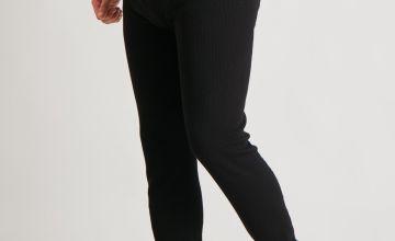 Black Thermal 'Very Warm' Long Pants