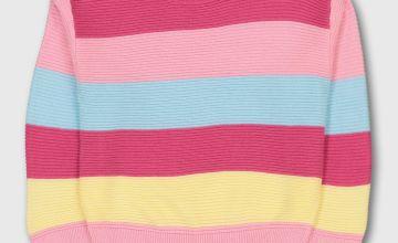Bright Stripe Jumper