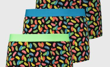 Neon Jellybean Print Hipsters 3 Pack