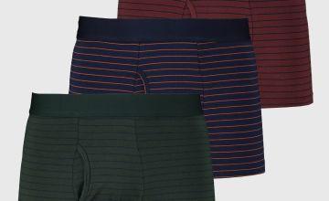 Fine Stripe Trunks 3 Pack