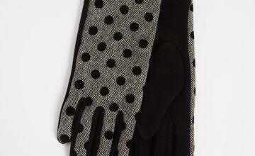 Polka Dot Gloves - One Size