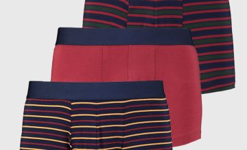 Rugby Stripe Hipsters 3 Pack