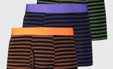 Bright Stripe Trunks 3 Pack