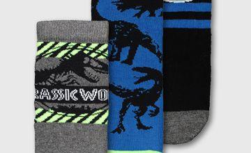 Jurassic Park Socks 3 Pack