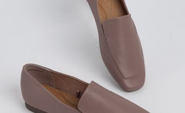 Sole Comfort Dusky Pink Slip On Loafer
