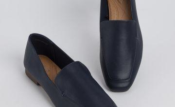Sole Comfort Navy Slip On Loafer
