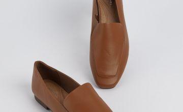 Sole Comfort Tan Slip On Loafer