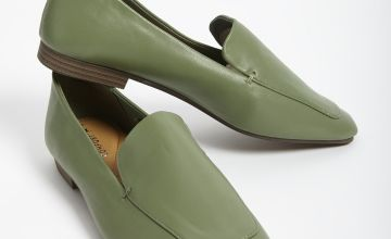 Sole Comfort Green Loafers