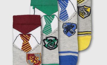 Harry Potter House Uniform Sock 4 Pack