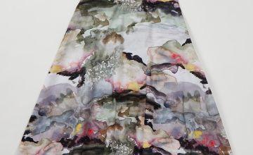 Graduate Fashion Week Watercolour Full Skirt