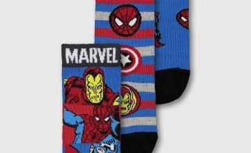 Marvel Comics Avengers Socks 3 Pack