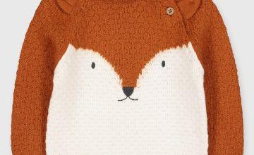 Cream Fox Jumper