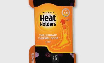 HEAT HOLDERS Spotted Socks - 4-8