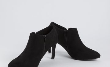 Sole Comfort Black Ankle Boot