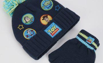 Disney Toy Story Navy Hat & Gloves