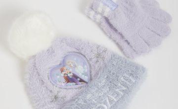 Disney Frozen 2 Purple Hat & Gloves