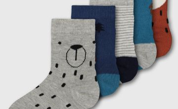 Woodland Friends Socks 5 Pack