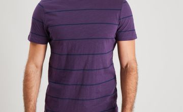 Purple Breton Stripe Pyjamas