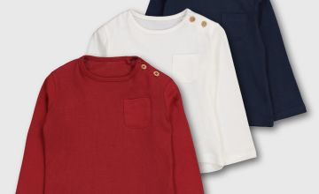 Red, White & Blue Tops 3 Pack