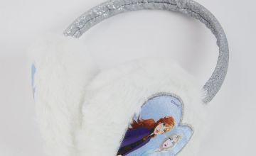 Disney Frozen 2 Silver Ear Muffs - One Size