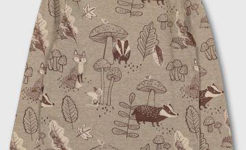Badger & Fox Print T-Shirt