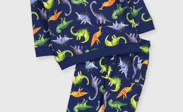 Dinosaur Print Sweat Set