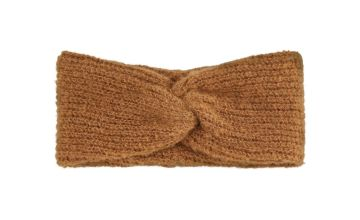 Tan Knitted Headband - One Size