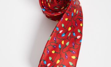 Christmas Novelty Lights Tie - One Size