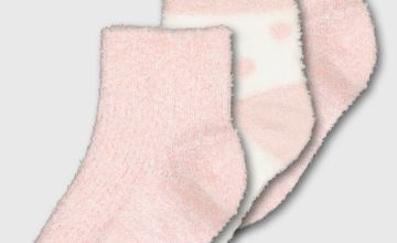 Pink Cosy Socks 3 Pack