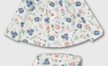 Floral Print Woven Pyjamas