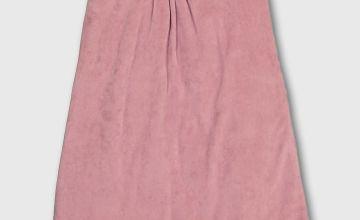 Pink Velour 2.5 Tog Sleeping Bag