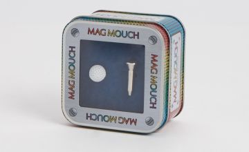 Father's Day MAG MOUCH Golf Ball & Tee Cufflinks - One Size