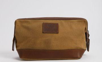 THE BRITISH BAG COMPANY Tan Wash Bag - One Size