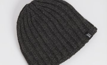 HEAT HOLDERS Grey Beanie Hat - One Size