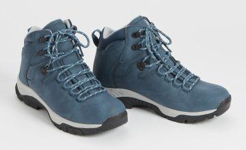 Sole Comfort Blue Hiker Boots