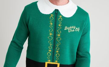 Christmas Green Elf Jumper
