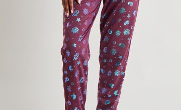 Harry Potter Foil Print Pyjama Bottoms