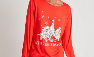 Christmas Winnie The Pooh Pyjamas